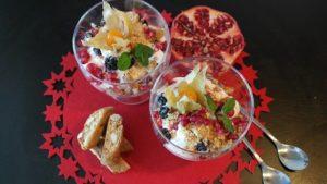 desser contenente alimenti probiotici prebiotici e simbiotici